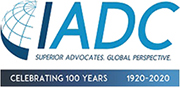 IADC logo. Superior advocates. Global perspective.